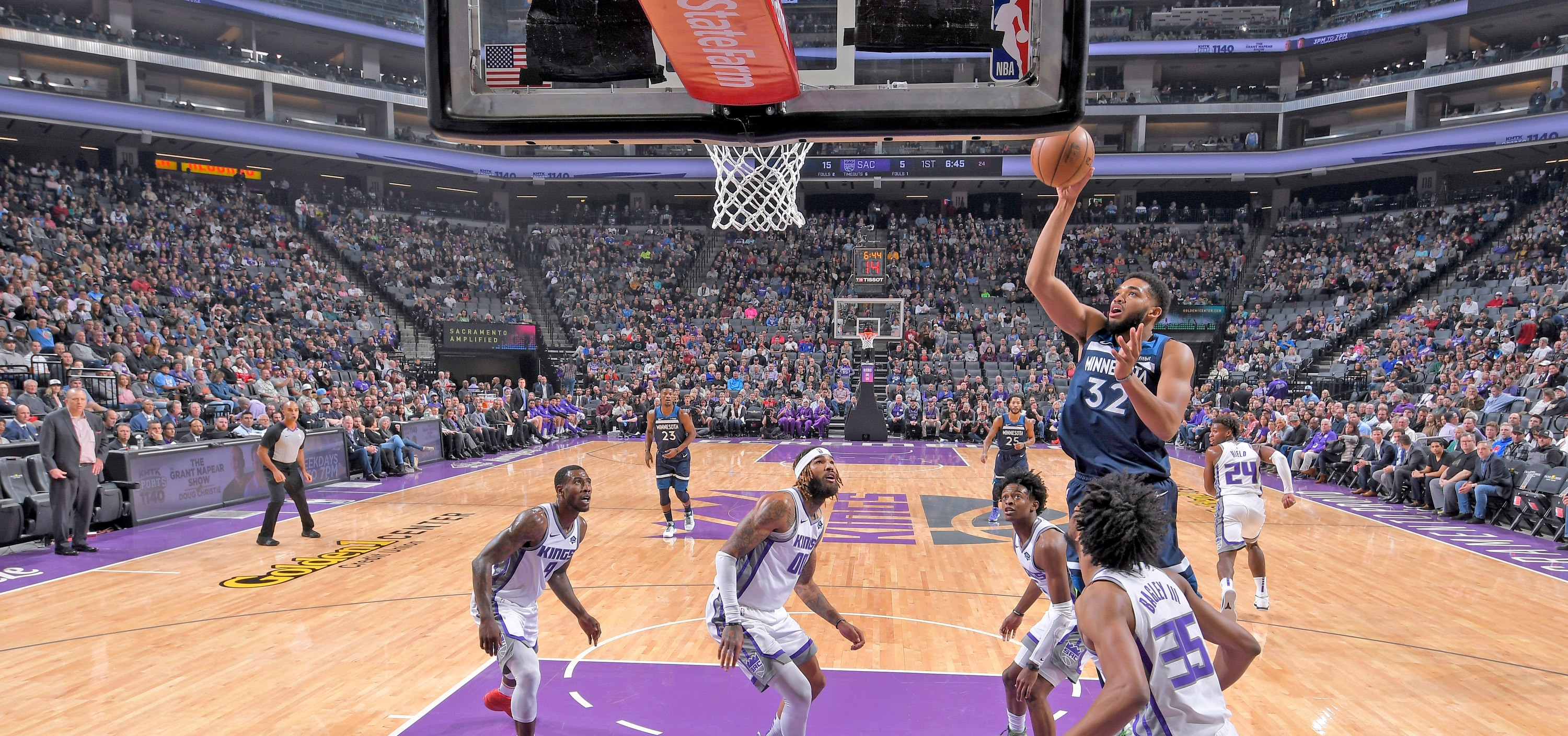 Towns Joins Elite Group (Again)