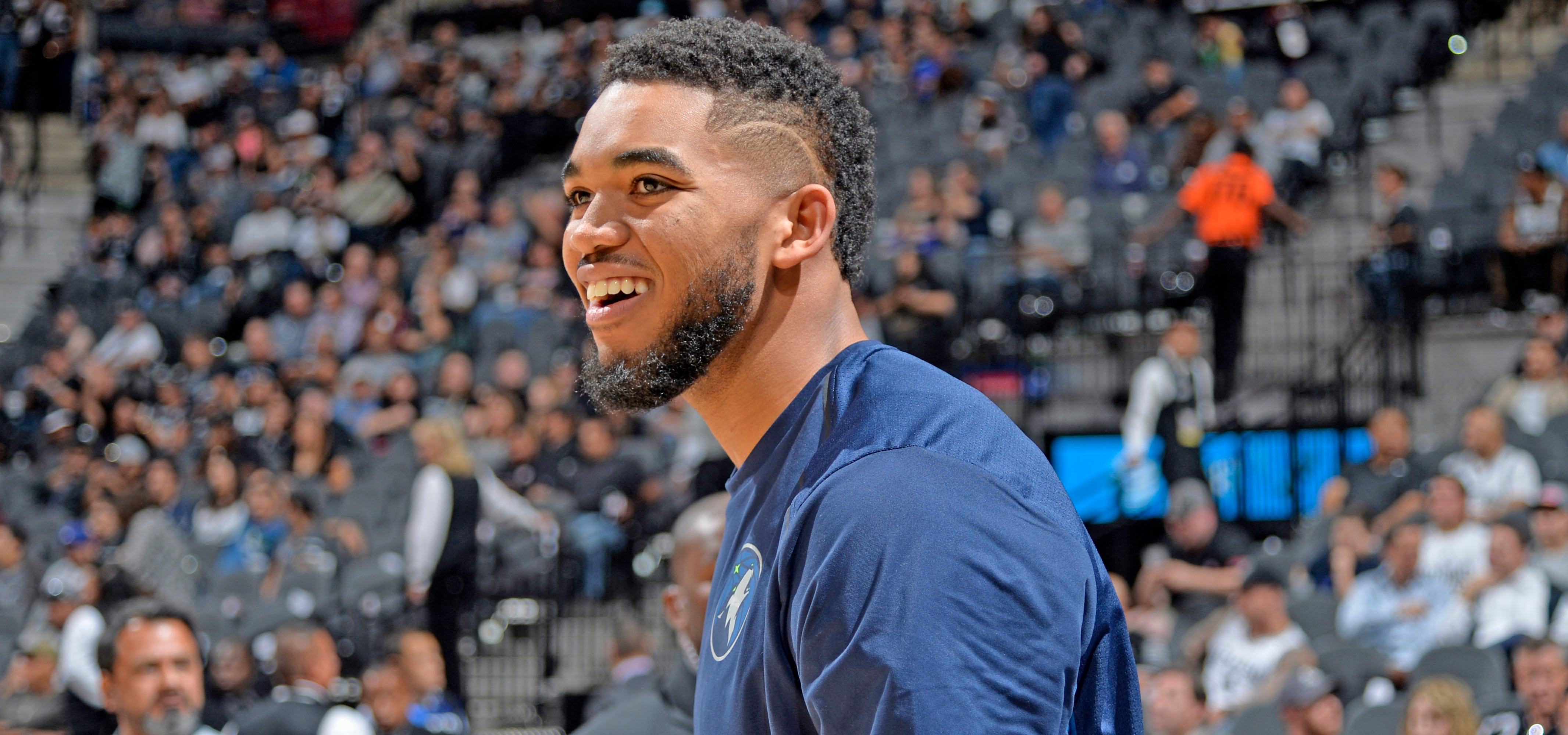 Towns Appears On Jimmy Kimmel Live For College Game Show  Minnesota Timberwolves