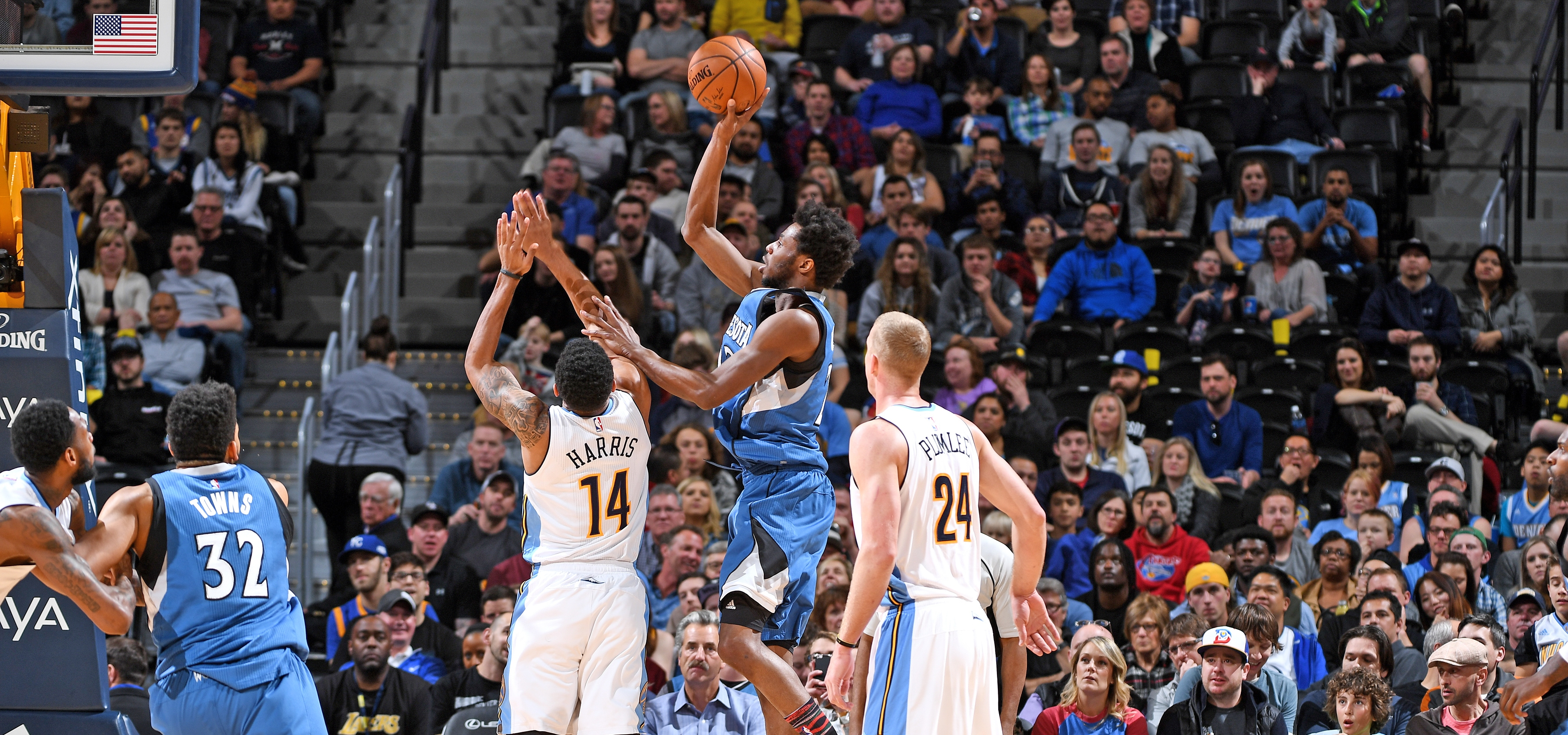 Hitting The Hardwood  Andrew Wiggins Is Making History