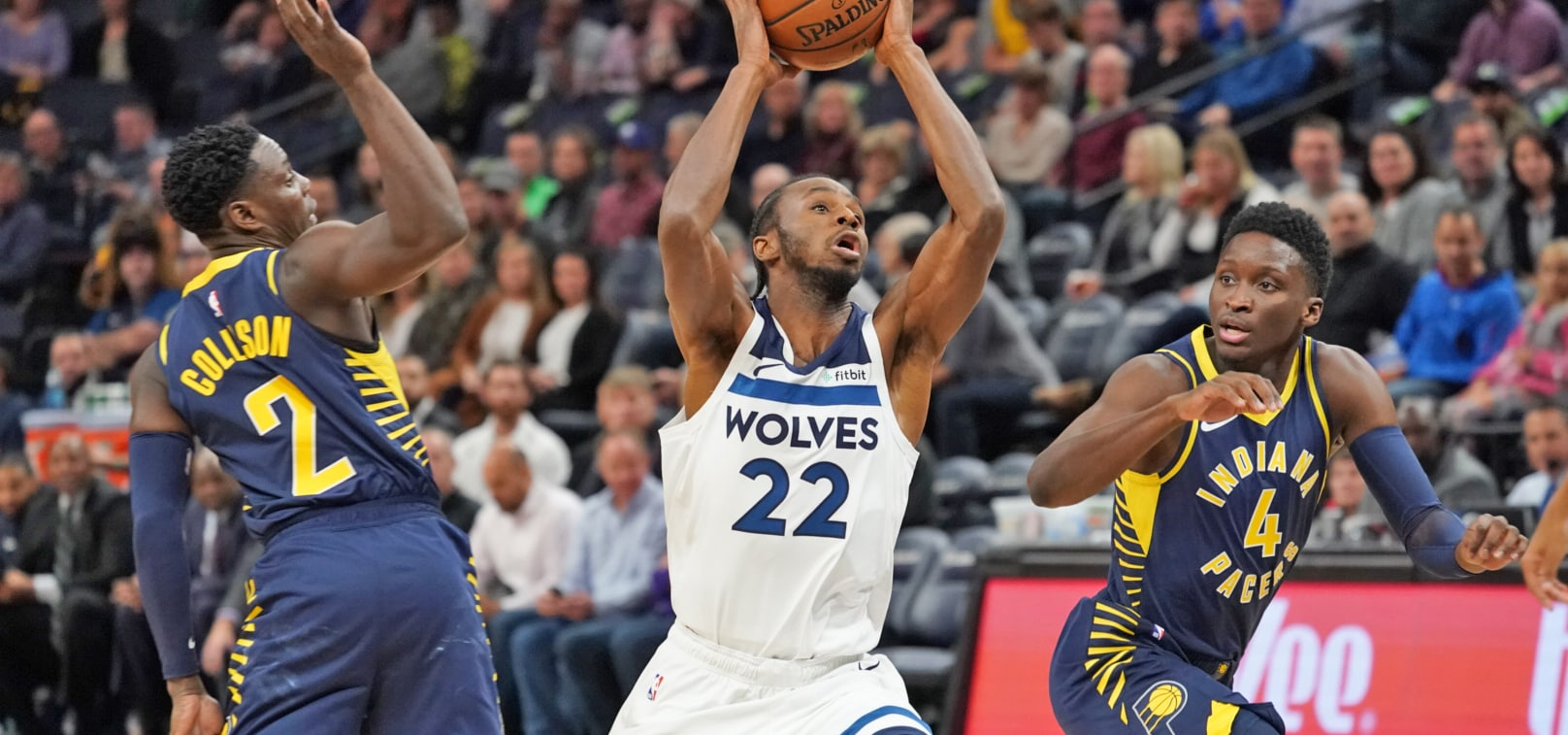 Andrew Wiggins Suffers Thigh Contusion Against Pacers