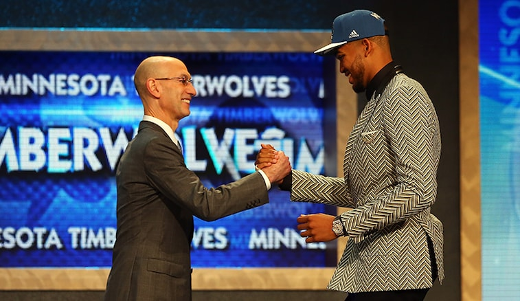 Timberwolves Select Karl-Anthony Towns with First Pick in 2015 NBA Draft