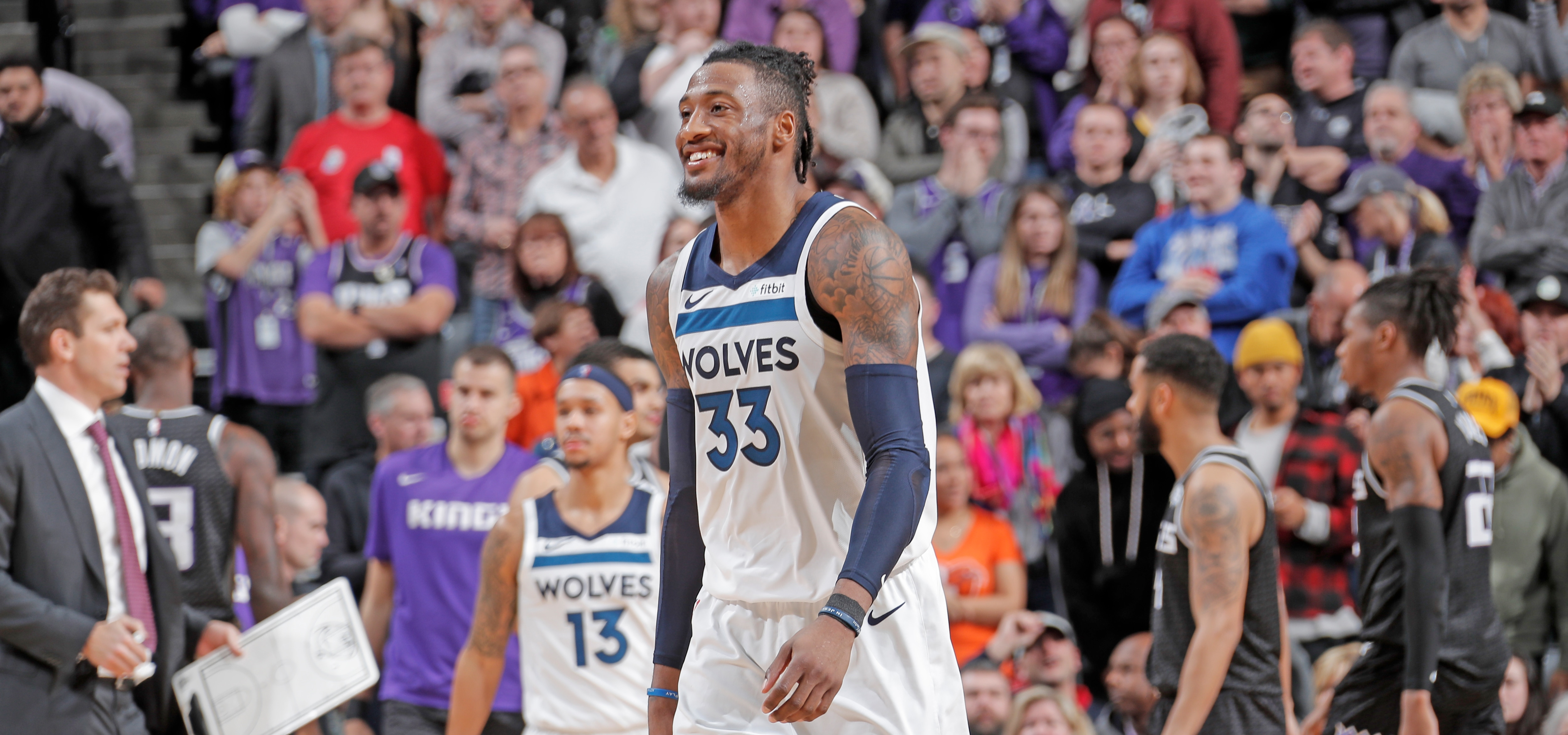 Wolves Snap Cold Streak With Wild Win Over Kings Minnesota
