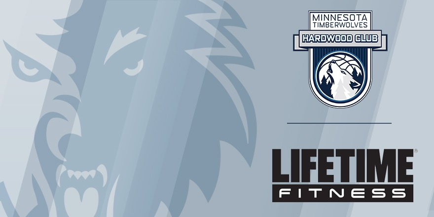 Minnesota Timberwolves Hardwood Club Lifetime Fitness