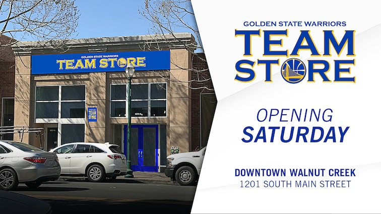 low priced 3d24a d720e Warriors to Open Warriors Team Store in Downtown Walnut ...