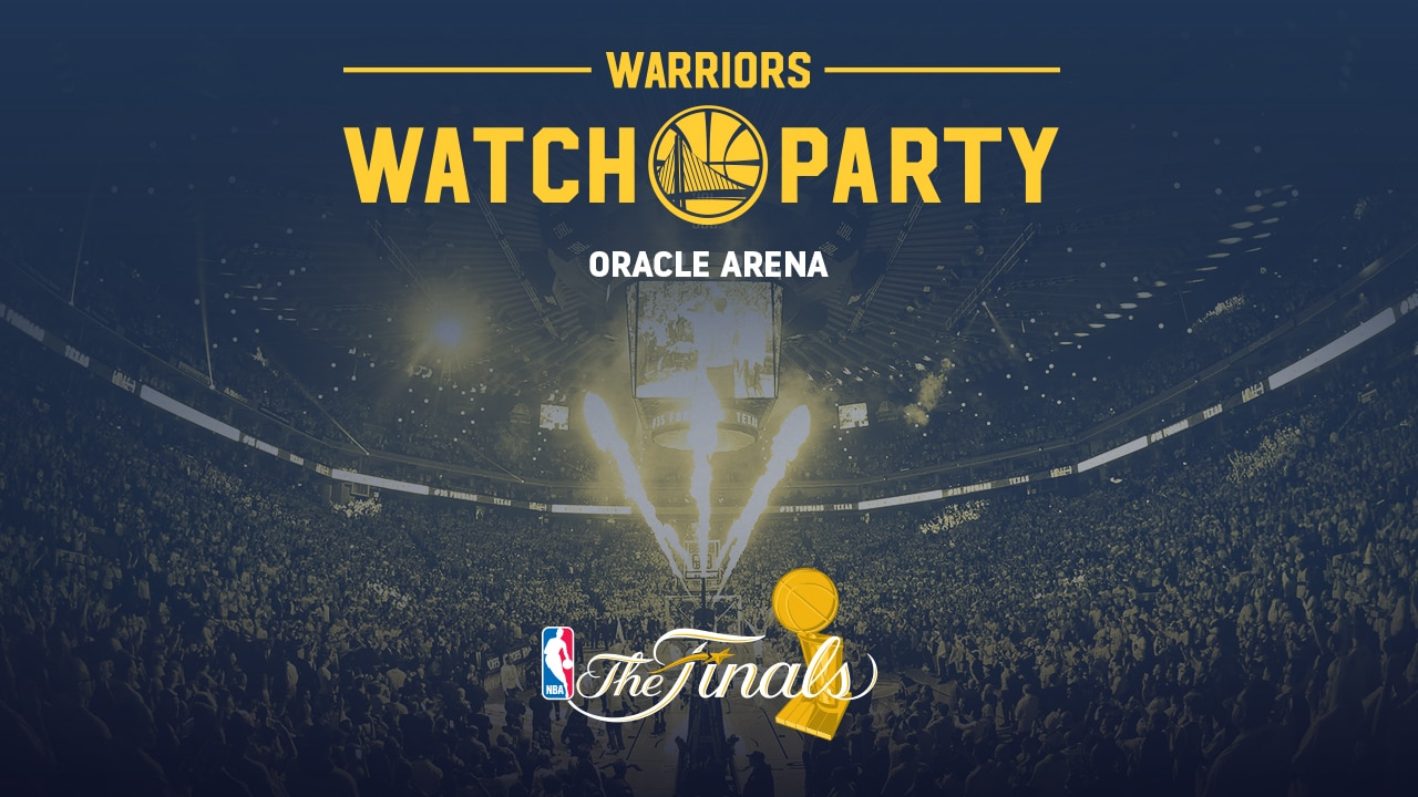 Warriors to Host Official Watch Parties at Oracle Arena ...