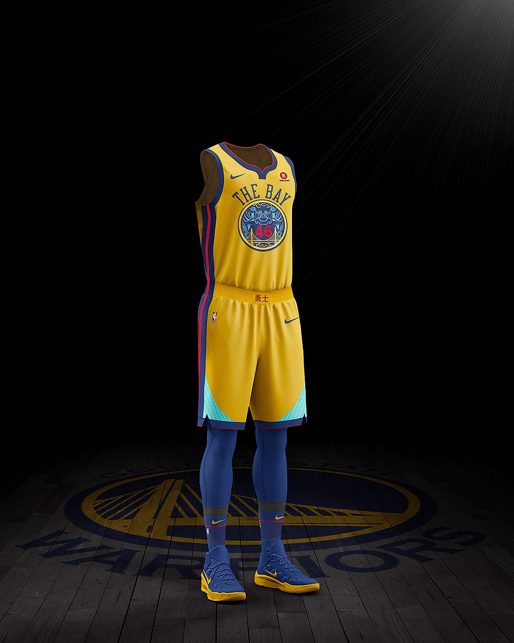 d0758f6c0 Warriors to Wear Chinese Heritage Uniforms for Select Games During ...