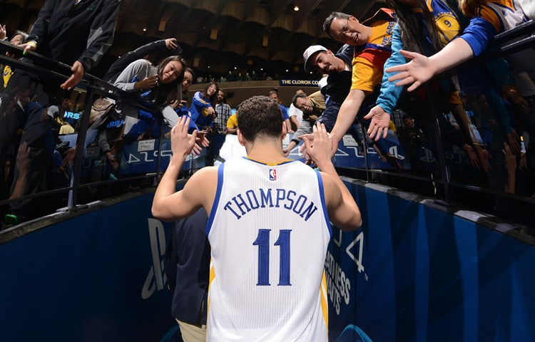 Kia New Orleans >> Klay Thompson Named Western Conference Player of the Week ...