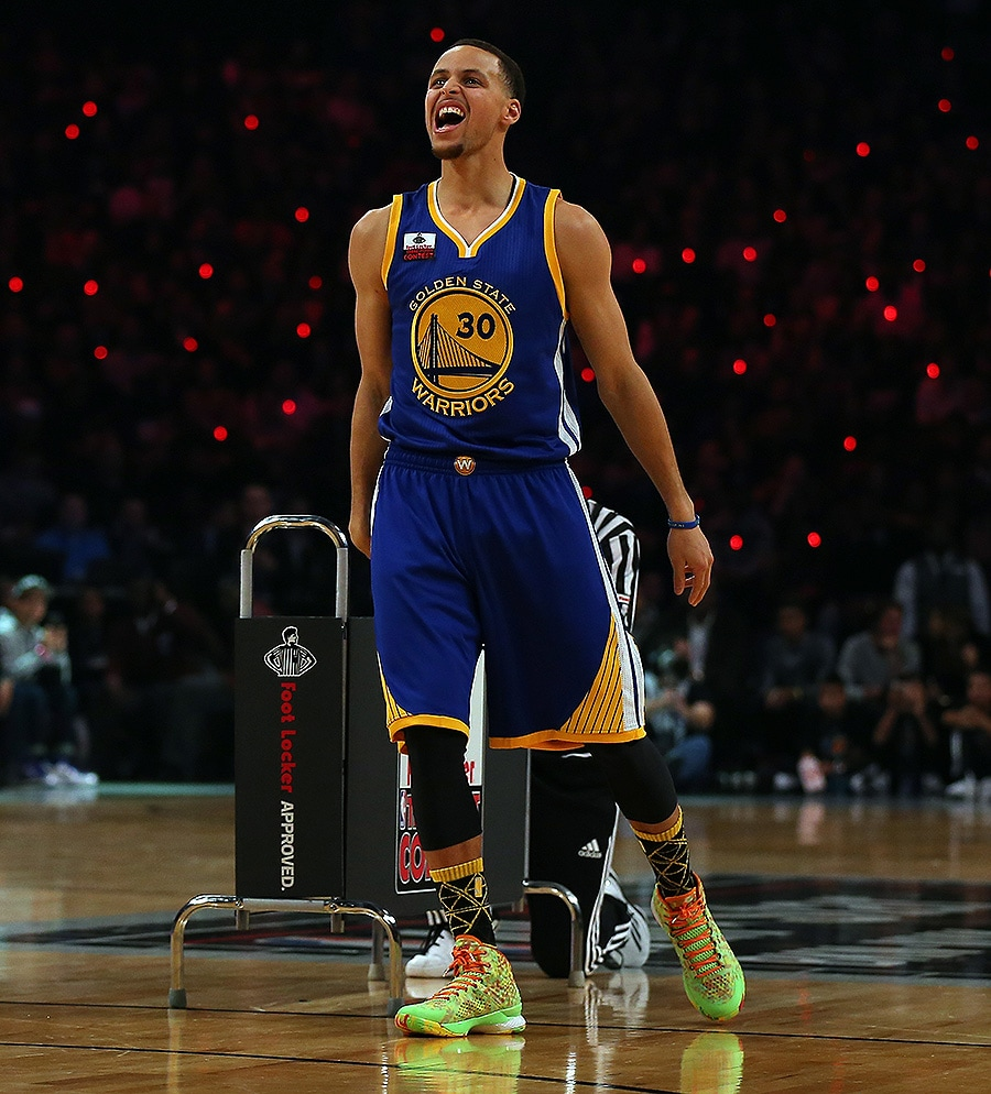 Nba Stephen Curry: Nothing But Splash: Stephen Curry Wins 3-Point Contest