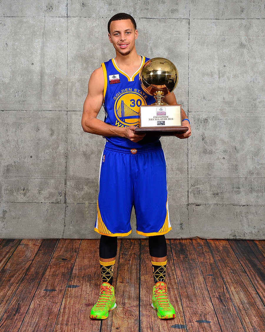 Nothing But Splash Stephen Curry Wins 3 Point Contest