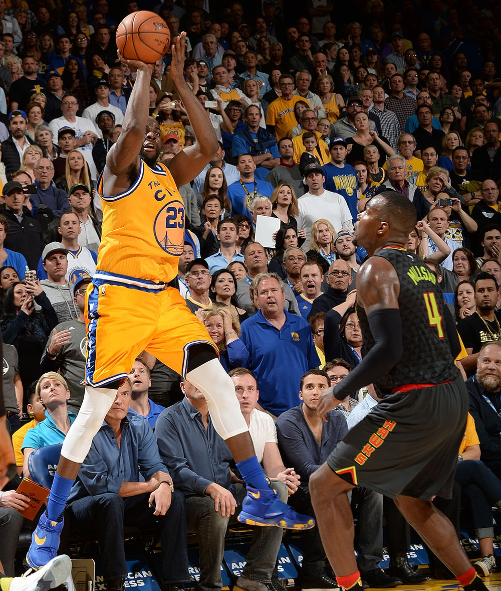 Warriors Into The Wild Setting: Green's Wild Shot Lifts Warriors To Wild Win