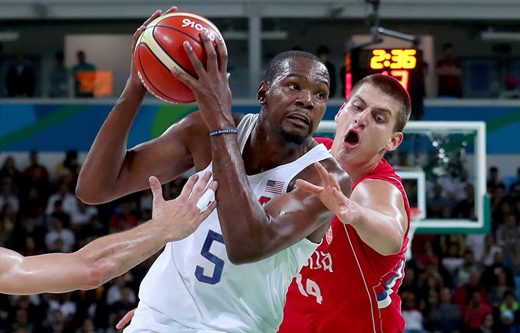 bb0a56f32ae 2016 Olympic Basketball  USA vs. Serbia - 8 12 2016