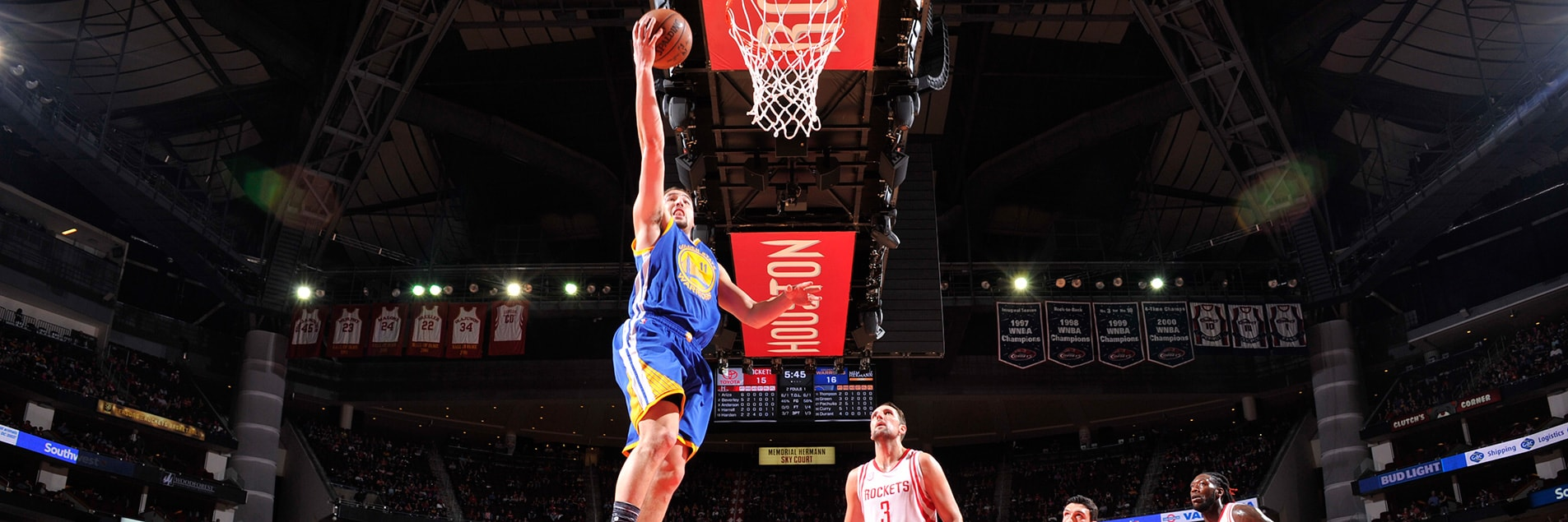 Balanced Effort Leads Warriors Over Rockets