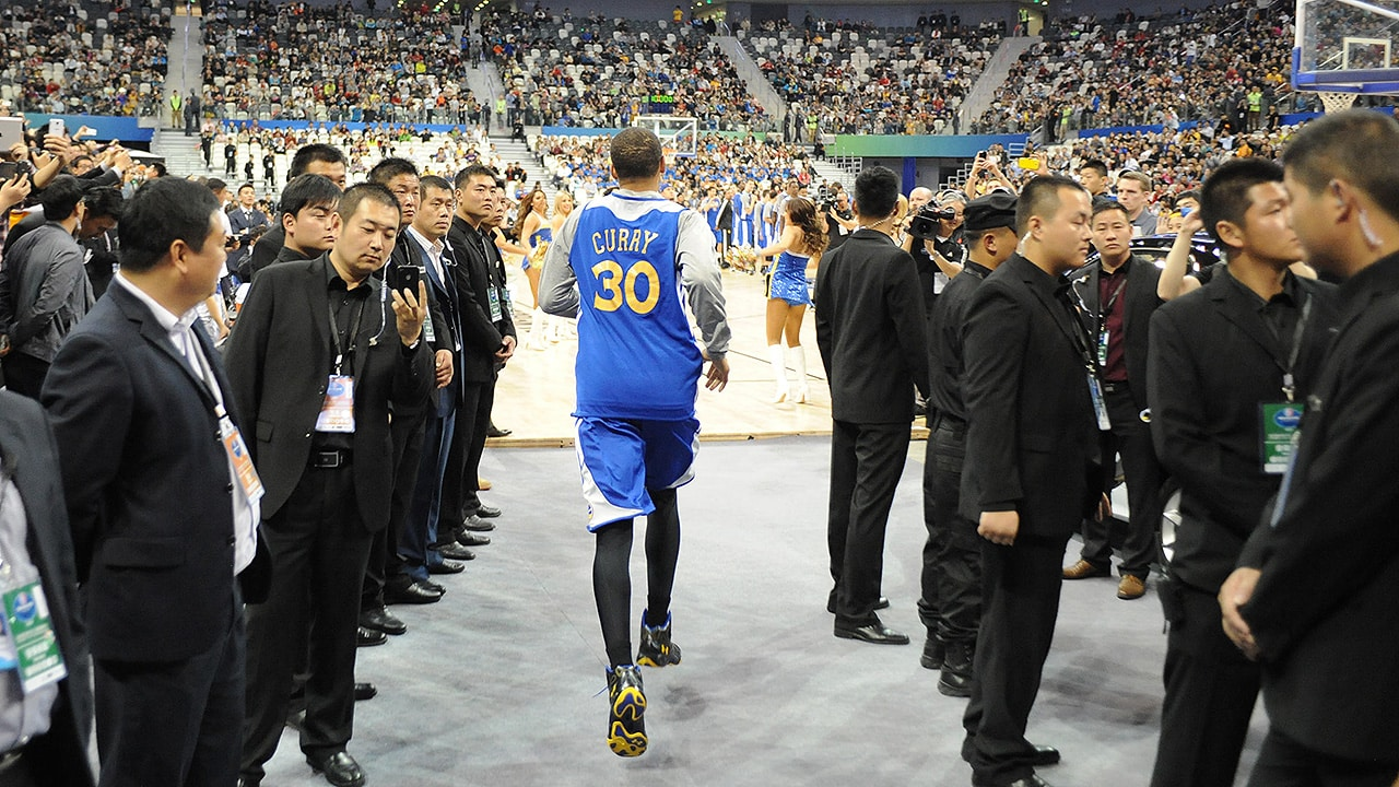 Warriors to Play Two 2017-18 Preseason Games in China