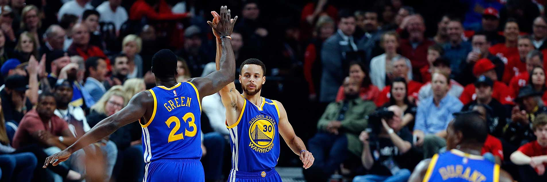 Warriors Complete Series Sweep of Trail Blazers