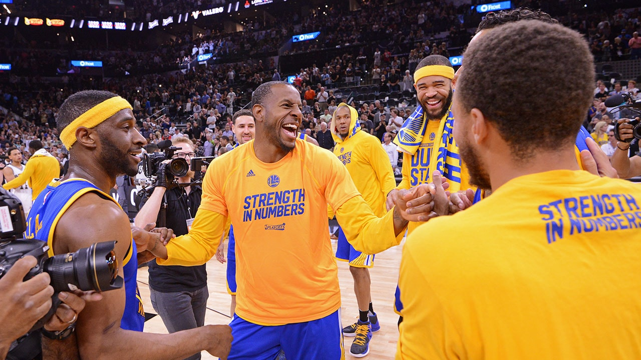 Warriors React To Western Conference Finals Success ...
