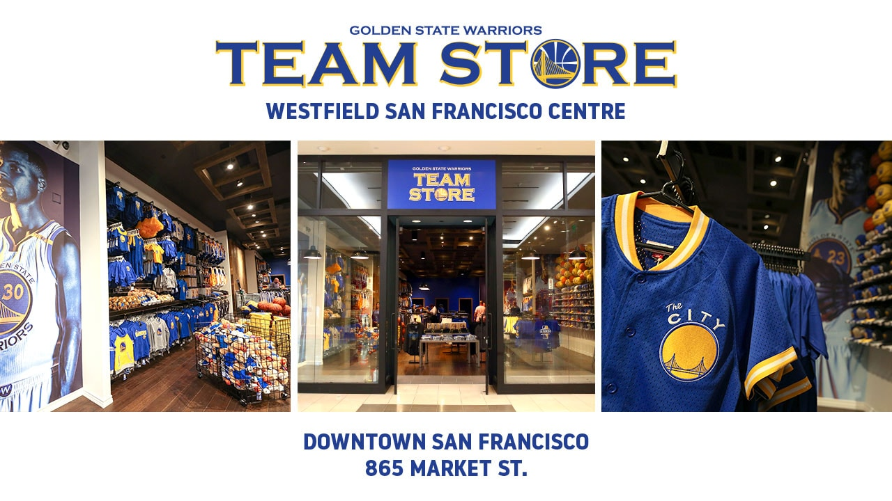 Warriors to Open Warriors Team Store at Westfield San Francisco Centre