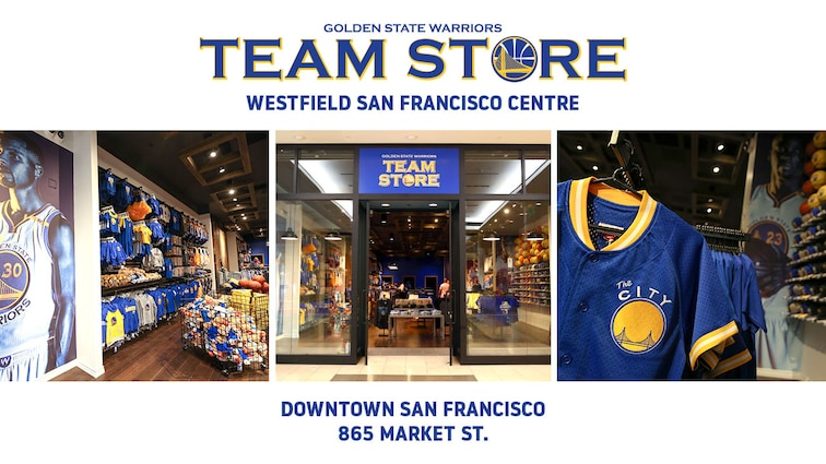 lowest price 690e0 bd31d Warriors to Open Warriors Team Store at Westfield San ...