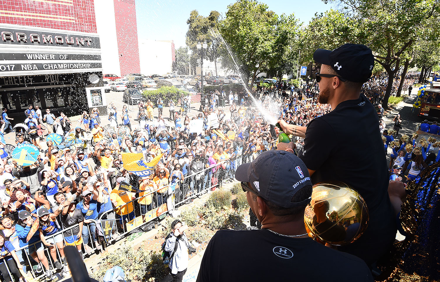 5981ce15972a1 Warriors Championship Parade and Rally to be Held this Thursday ...
