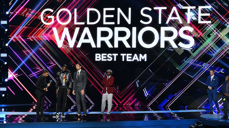 Golden State Warriors Win 'Best Team' and Kevin Durant Wins 'Best Championship Performance' at 2017 ESPY Awards