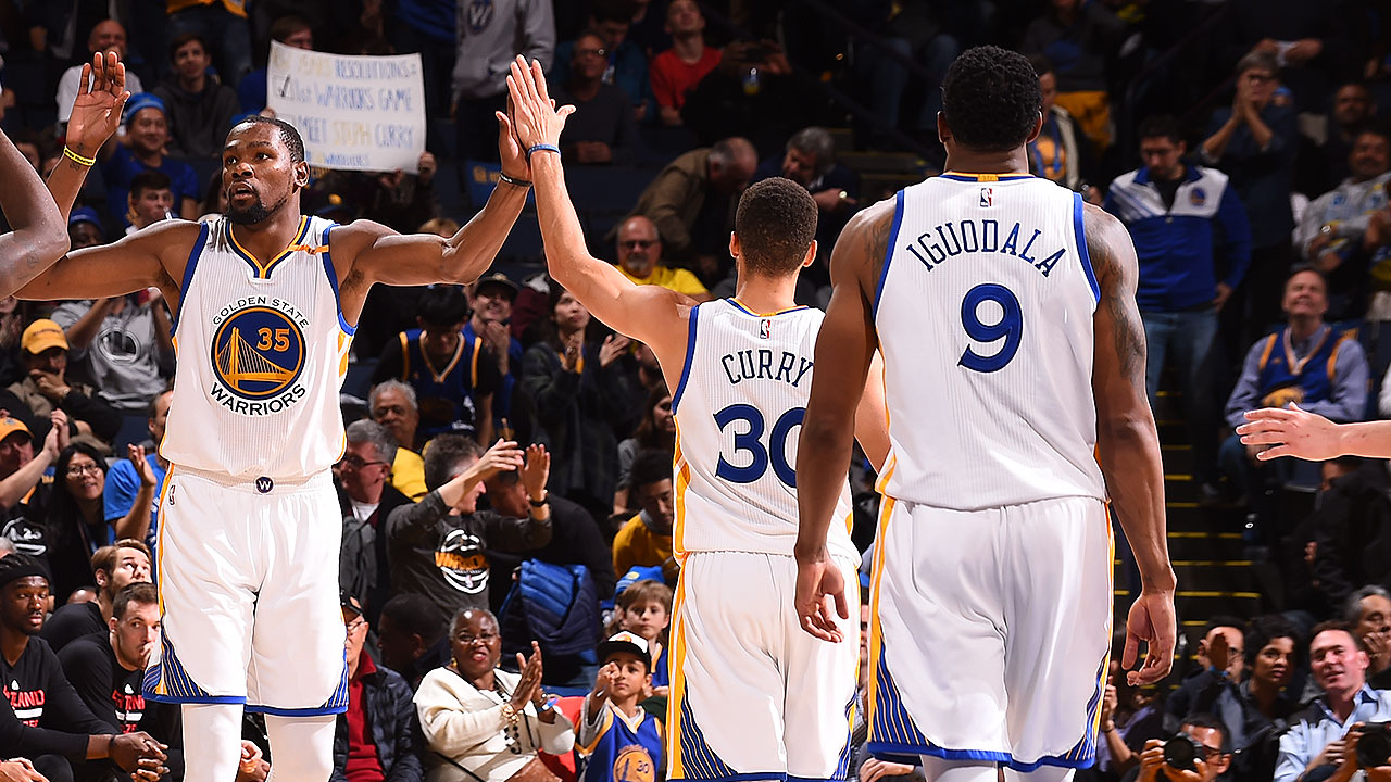 Warriors Re-Sign Curry, Durant, Iguodala, Livingston, Pachulia and West to Contracts | Golden State Warriors