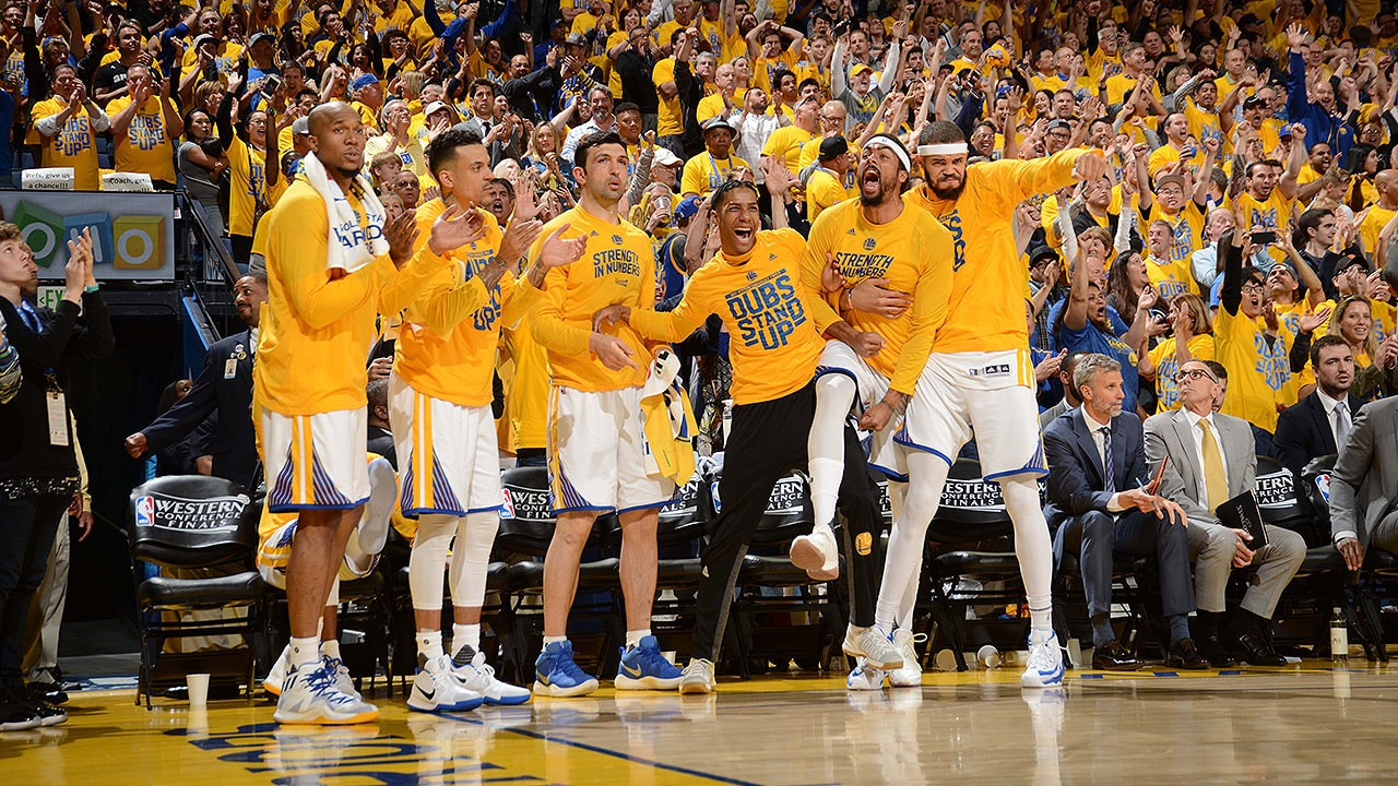 2016 17 Dubs Moments Of The Year Bench Reactions Golden