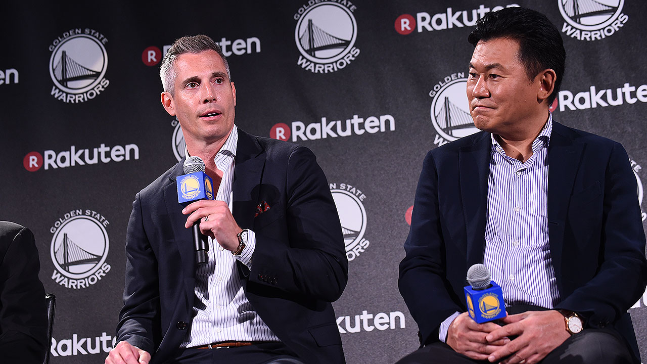 Quick Hits with Warriors and Rakuten Executives