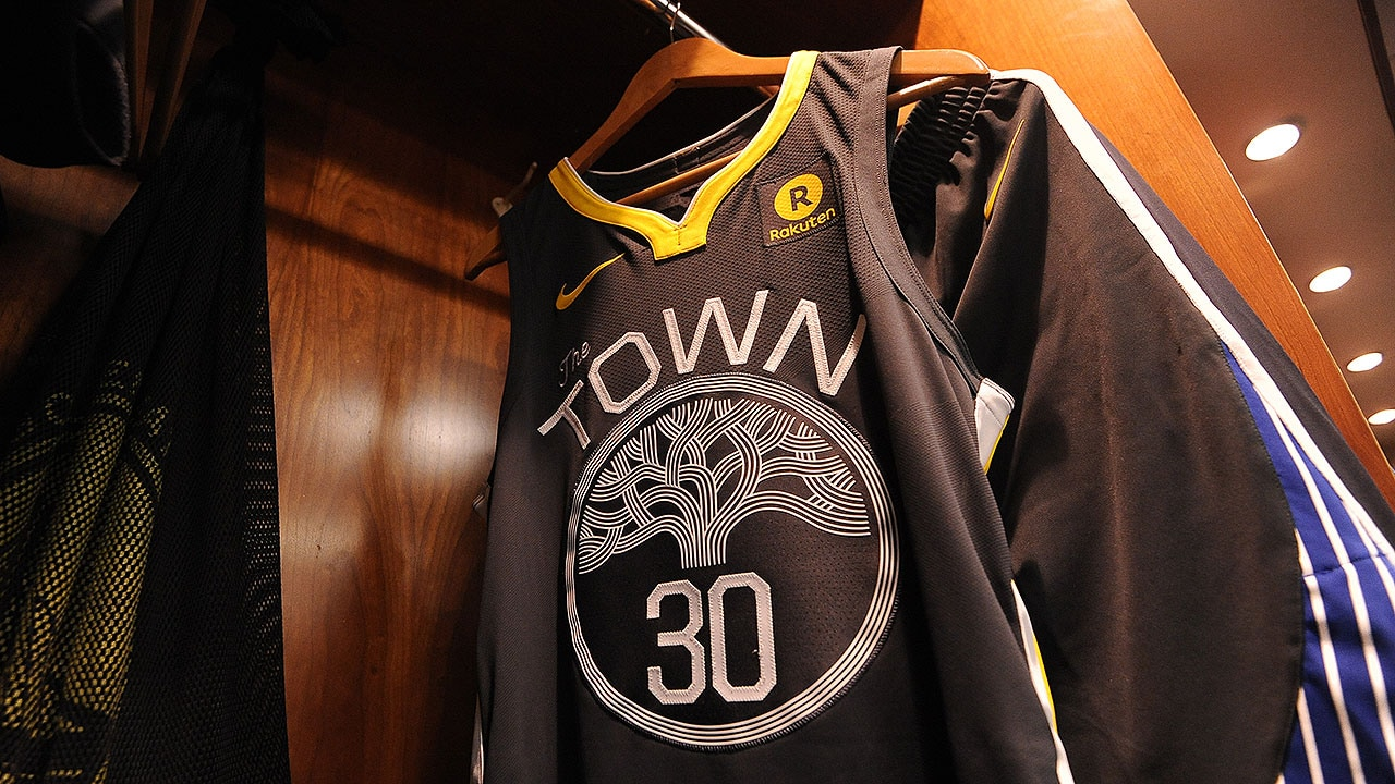 'The Town' Jersey Reaches Franchise Record in Sales | Golden State Warriors