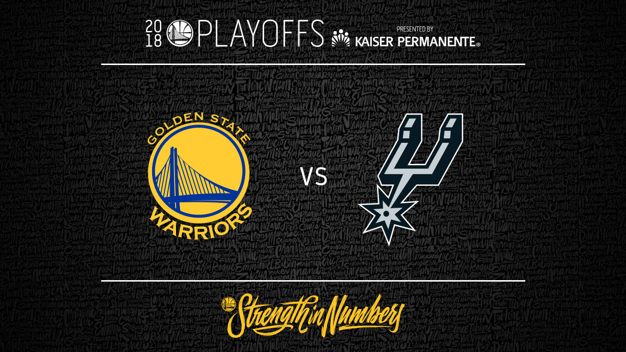 photograph about San Antonio Spurs Schedule Printable named Warriors Announce Routine for To start with Spherical Sequence Towards