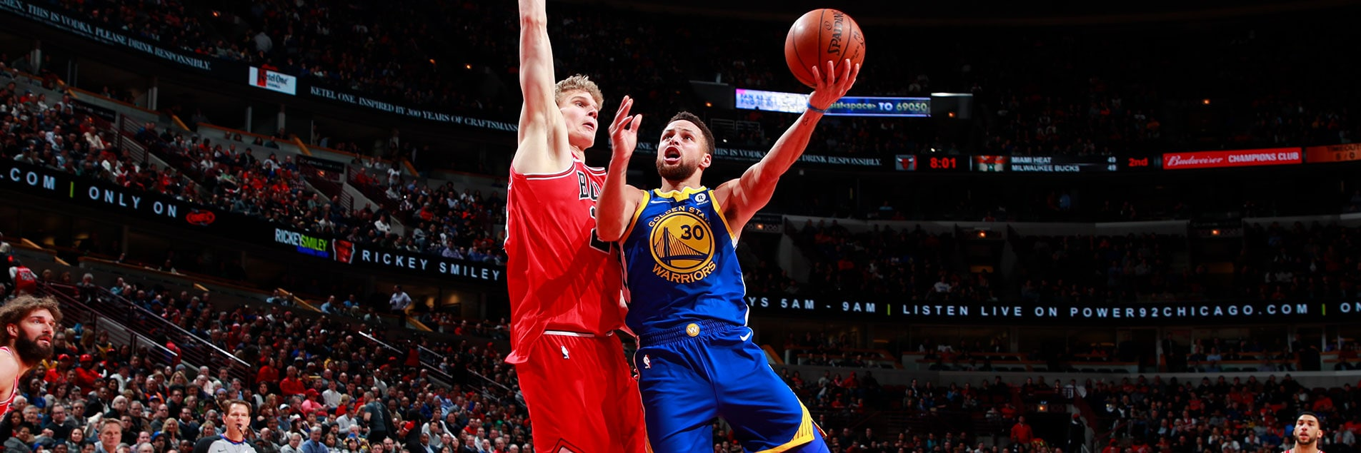 Splash Brothers Carry Warriors to Victory in Chicago