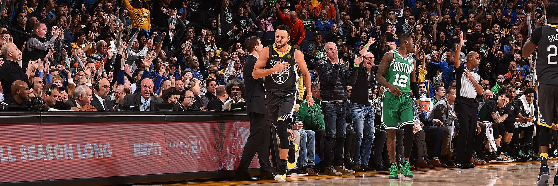 Clutch Curry Delivers as Dubs Beat Celtics | Golden State Warriors