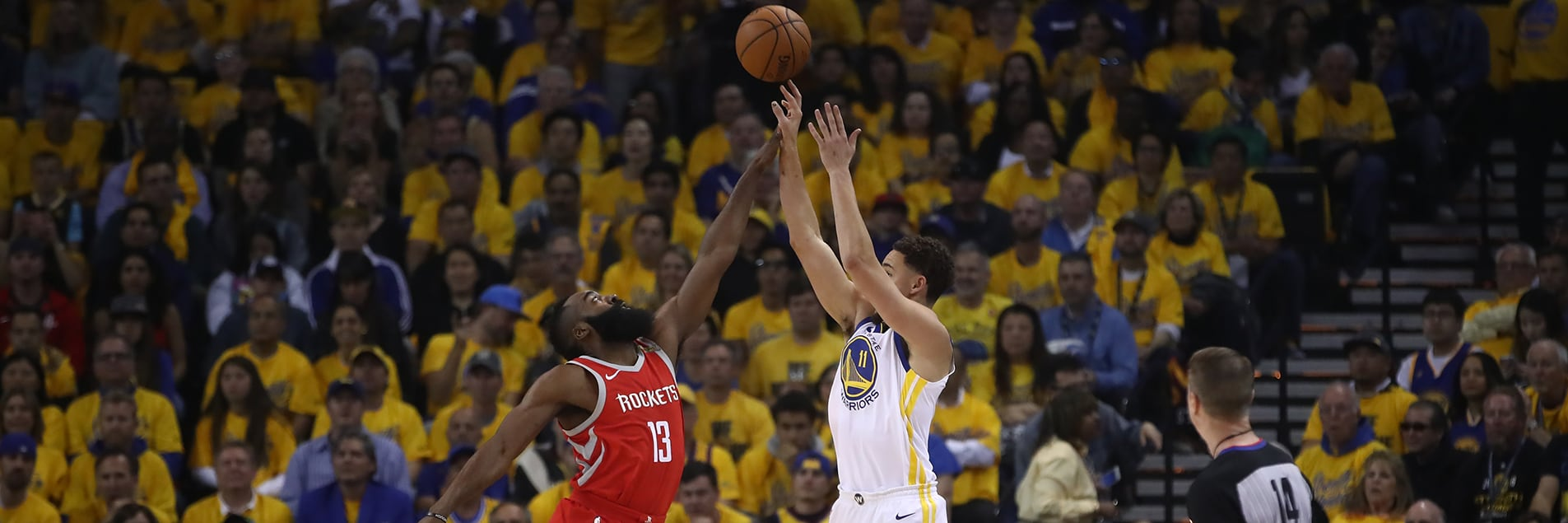 Splash Brothers Lead Warriors Over Rockets in Game 6