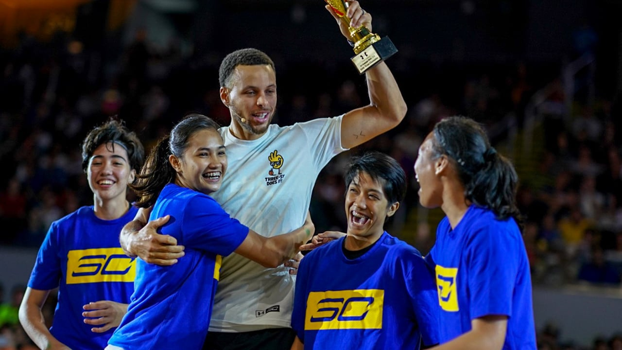 Where in the World is Stephen Curry