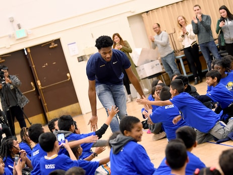 Photos: Read to Achieve with Alfonzo & Damian