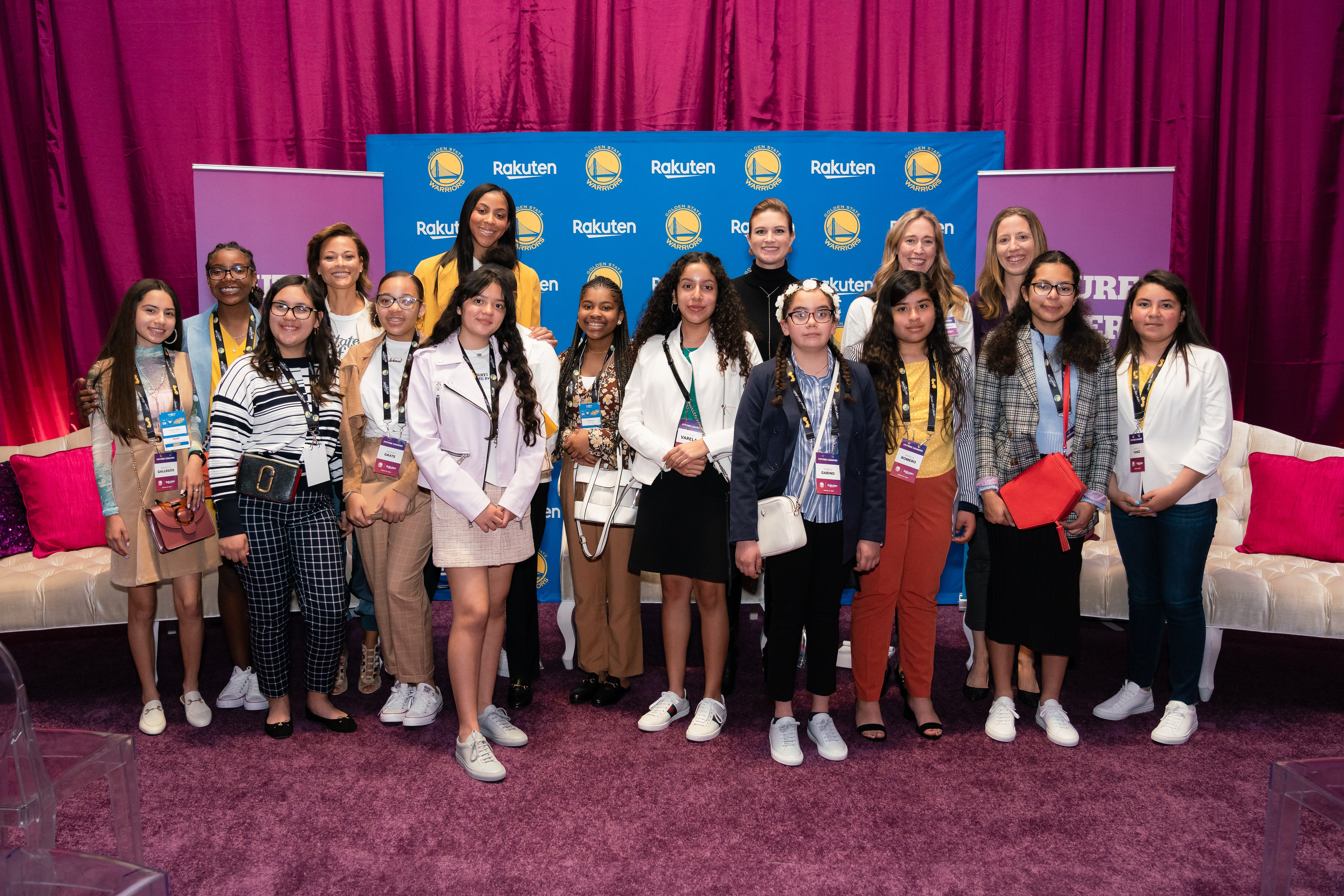 finest selection 80b01 477f3 Photos: Rakuten Future Leaders Experience | Golden State ...