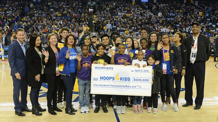 Warriors Community Foundation, 49ers Foundation, Sharks Foundation Team-Up with the Koret Foundation and Taube Philanthropies to Raise More Than $1 Million for Bay Area Non-Profit Organizations in 2018-19