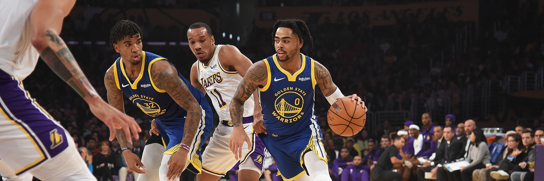 Russell Scores 23 in Preseason Loss to