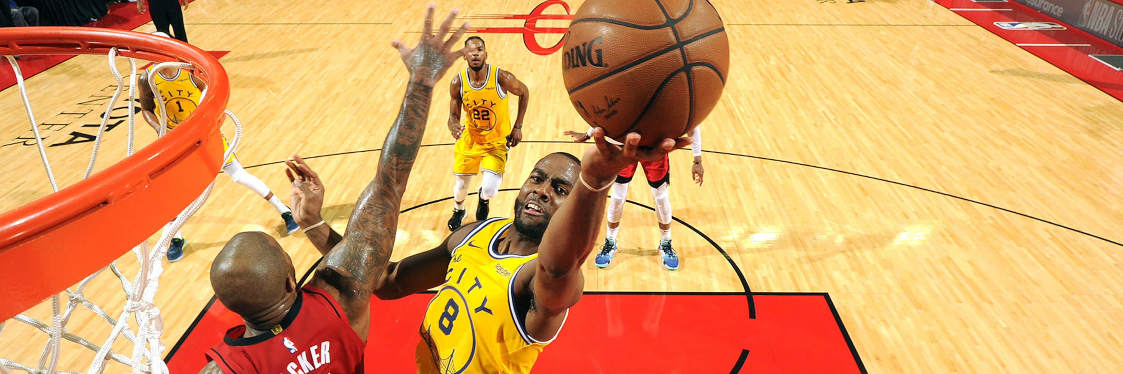 Warriors Fall to Rockets in Road Trip Opener