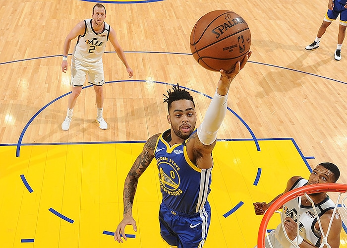 Warriors Unable to Cool Down Red-Hot Jazz