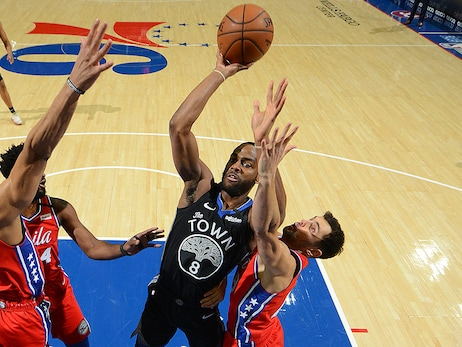 Dubs Strong Through Three Quarters, Fall Late to 76ers
