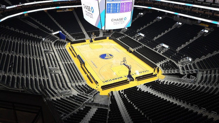 I Golden State Warriors donano 1 milione di dollari ai lavoratori del Chase Center