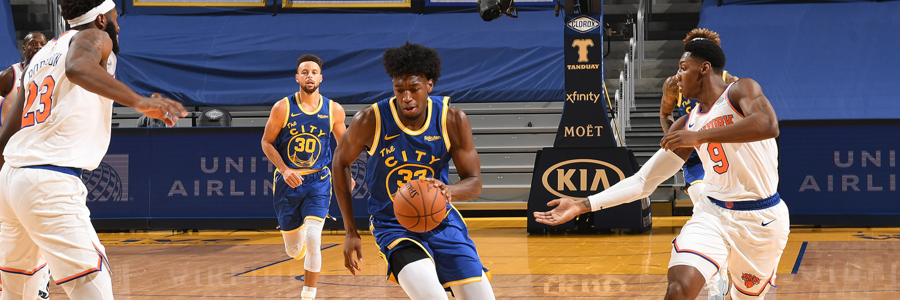 Warriors Offense Struggles In Loss To Knicks Golden State Warriors