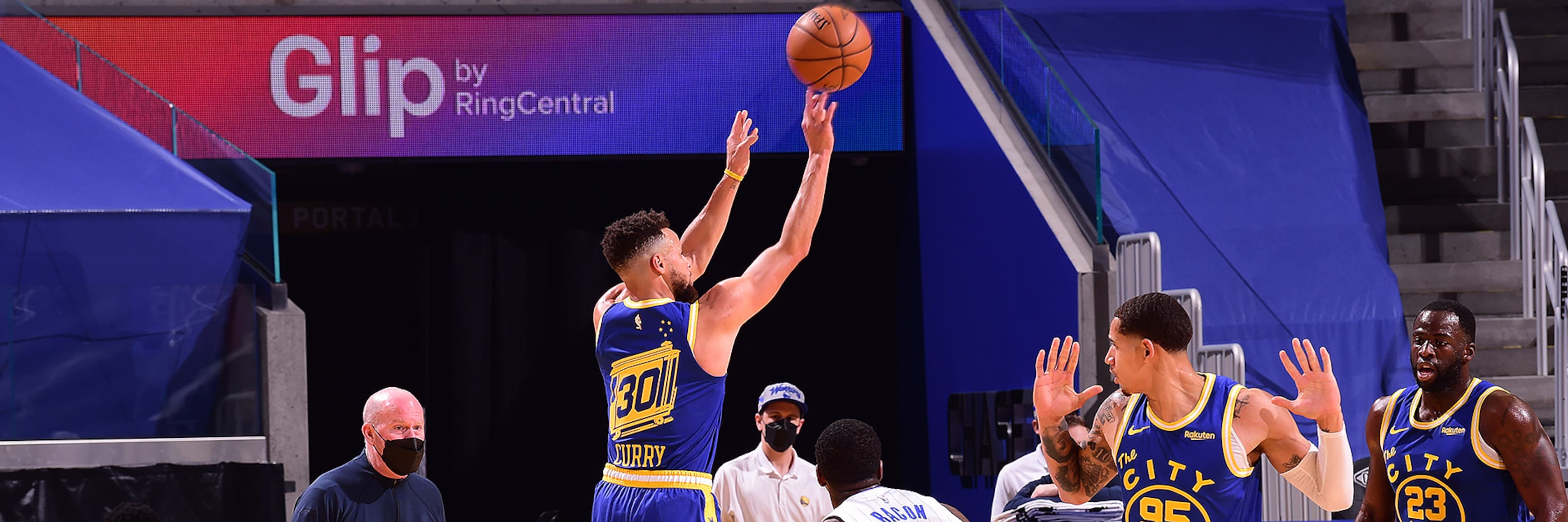 Warriors Outlast Magic in Homestand Opener
