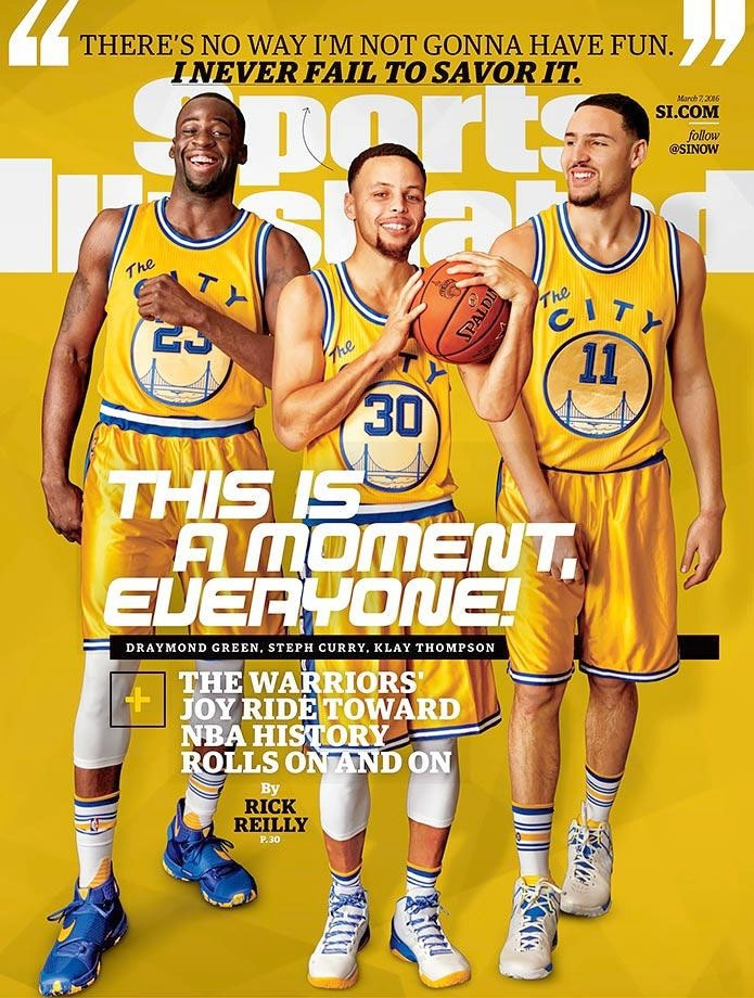 1277e03a2 Sports Illustrated Covers Featuring the Warriors