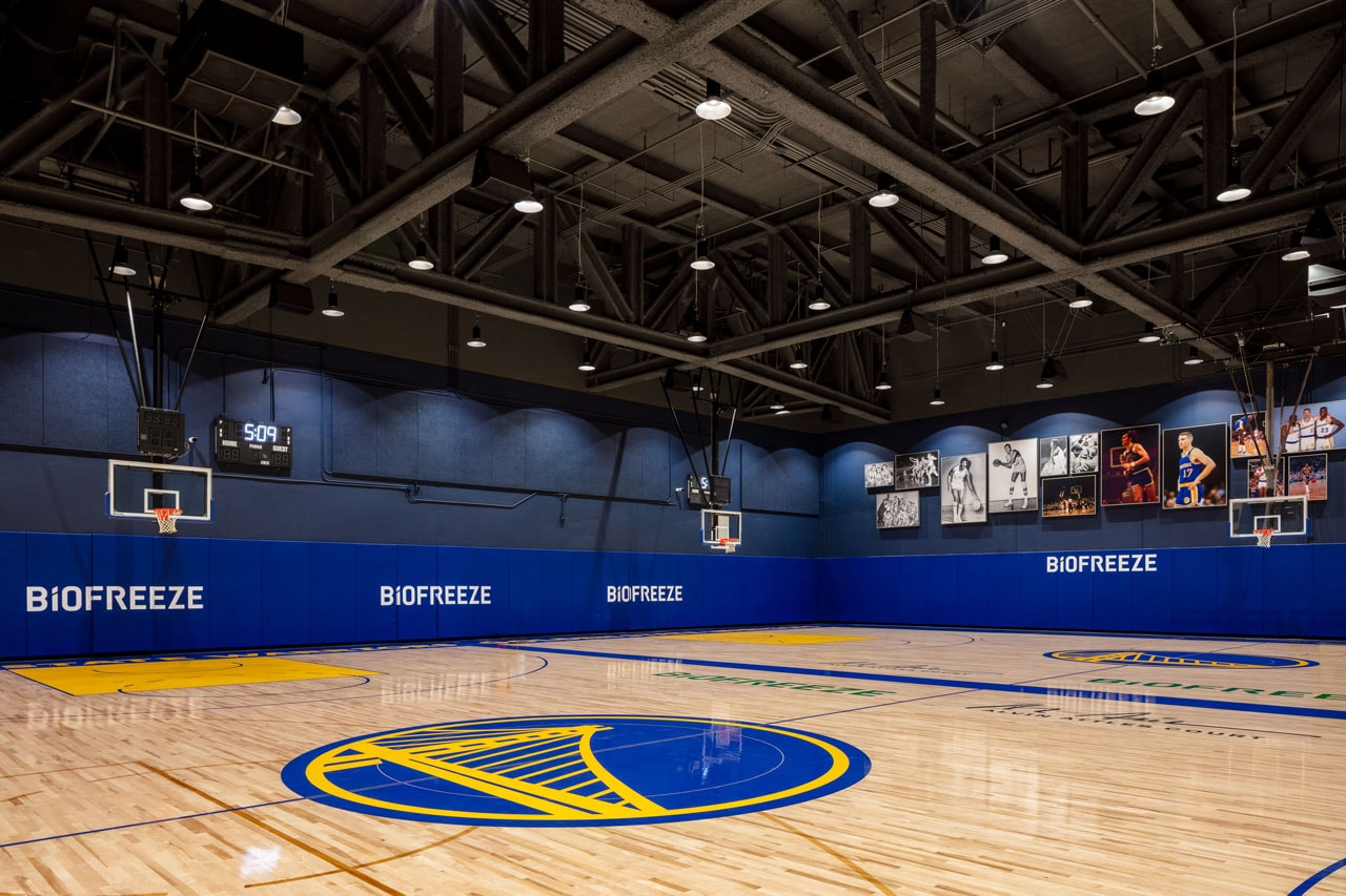 """The Biofreeze Performance Center will rival any such facility in the NBA."" - Warriors President of Basketball Operations / General Manager Bob Myers"