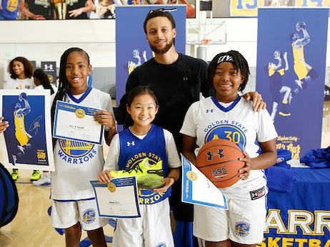 "Scenes from Curry's ""It's Our Game"" Camp"