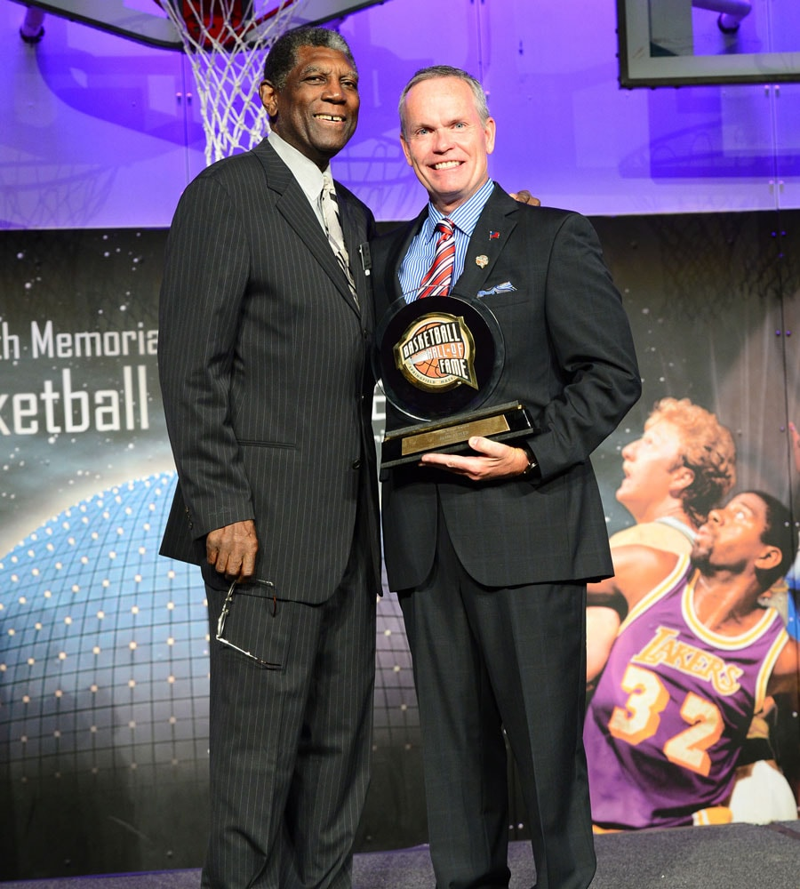 Al Attles Honored with Hall of Fame Bunn Lifetime Achievement