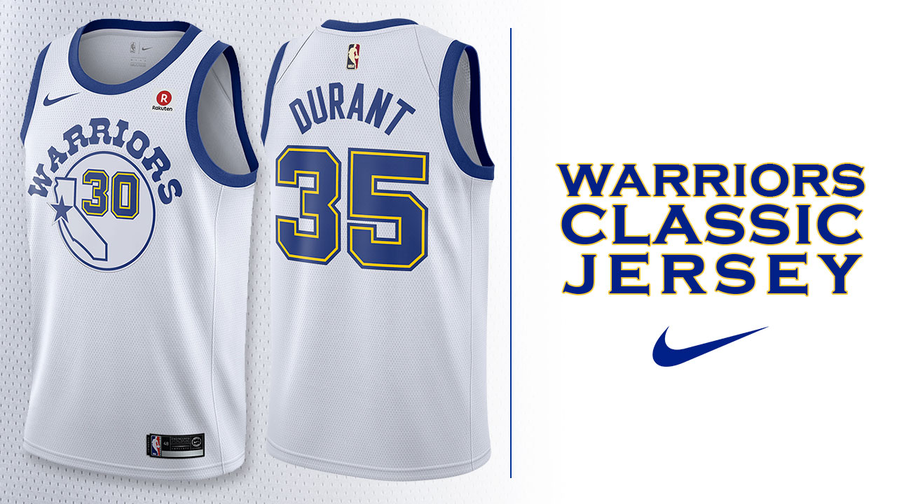 Warriors to debut classic edition uniforms tomorrow night for Classic new jersey house music