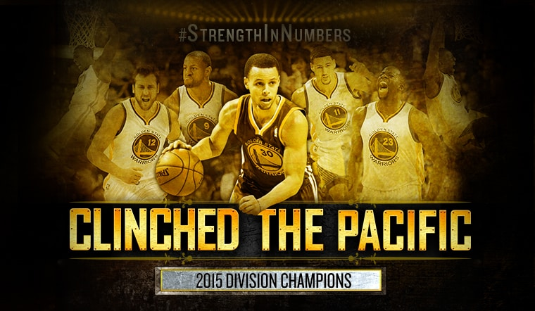 Warriors Clinch Pacific Division Title For First Time In