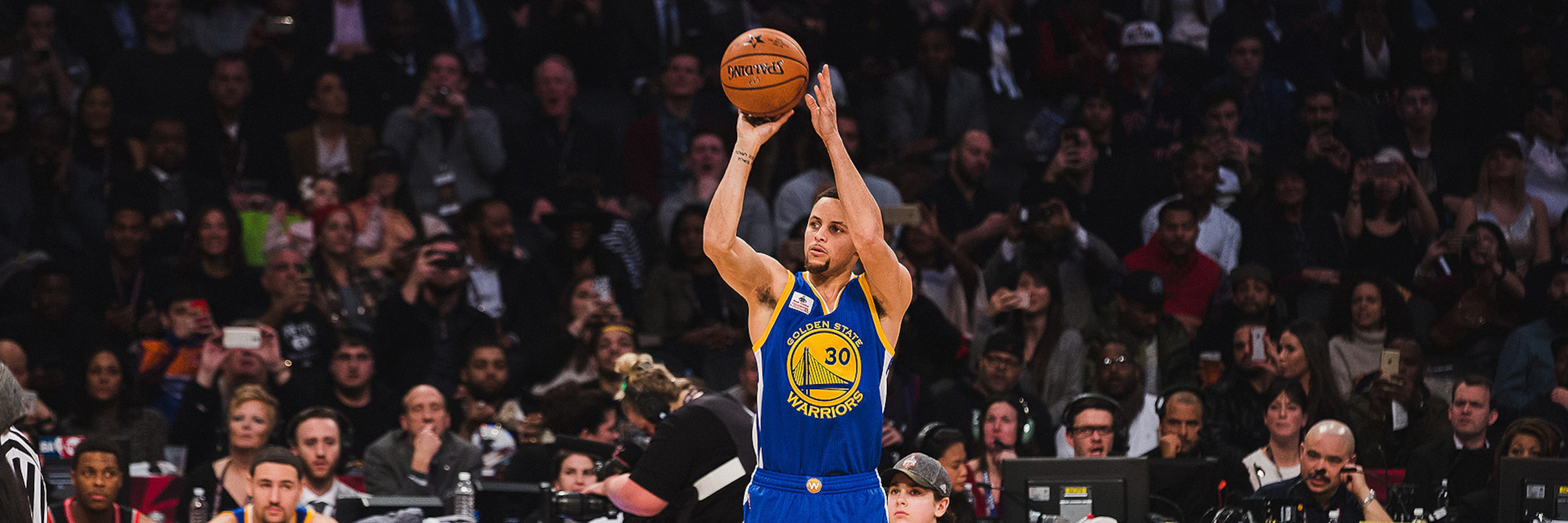 Stephen Curry's History in the Three-Point Contest