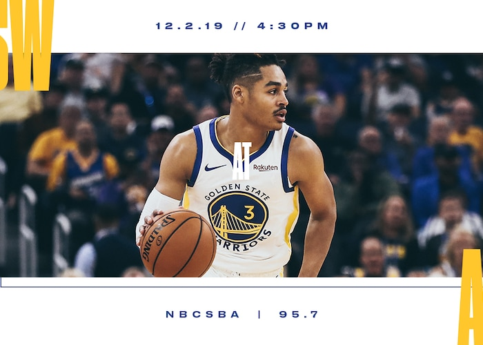 Game Preview: Warriors at Hawks - 12/2/19